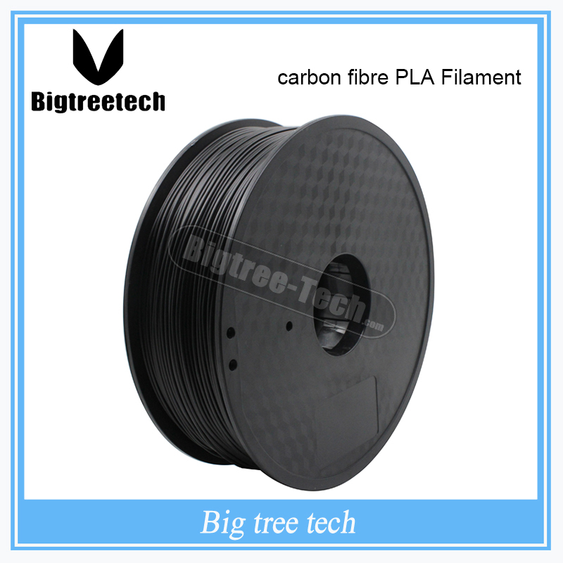 1 kg 3D imprimante matériel 1.75mm 30% Fiber de carbone PLA Filament RepRap/Makerbot/Ultimaker/Mendel/kossel/creatbot, etc vente stylo 3D