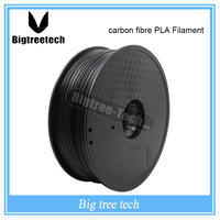1kg 3D Printer Material 1.75mm 30% Carbon Fiber PLA Filament RepRap/Makerbot /Ultimaker/Mendel/kossel/creatbot,etc Sales 3D PEN