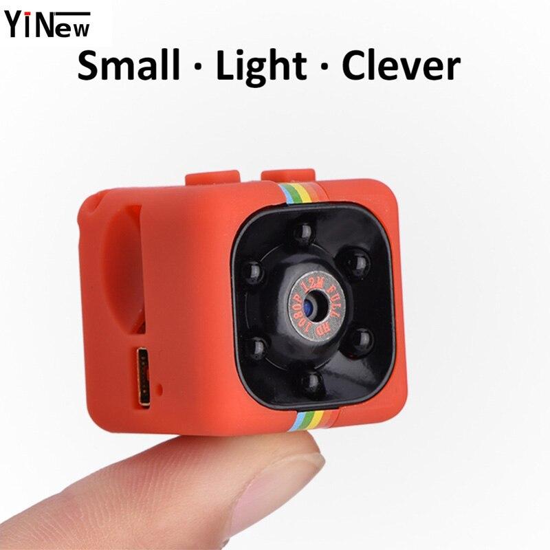 SQ11 Mini Macchina Fotografica 1080 p di Sport DV Mini Macchina Fotografica di Visione Notturna A Raggi Infrarossi Monitor A Scomparsa Mirco SQ 11 piccola telecamera DV video Recorder
