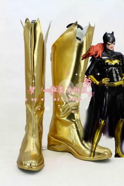 Batman suicidio escuadrón Harley Quinn Cosplay botas de alta calidad zapatos personalizados