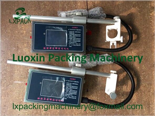 Machine de codage et de marquage industrielle à prix usine le plus bas de LX-PACK pour le codage de palettes de cas de produit similaire à celui du JET REA