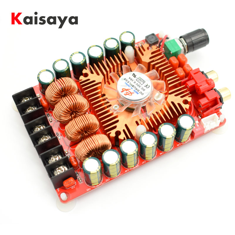 new quality TDA7498E 2 X 160W BTL220W mono power digital stereo amplifier AMP board D4-002