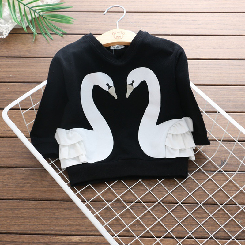 2017-Autumn-Toddler-Sweater-Swan-Printed-Girls-T-shirt-Long-Sleeve-Infant-Children-Clothing-Lovely-Animal-Girl-Outwear-Kids-Tops-1