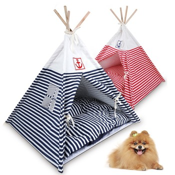 Dog Striped Teepee
