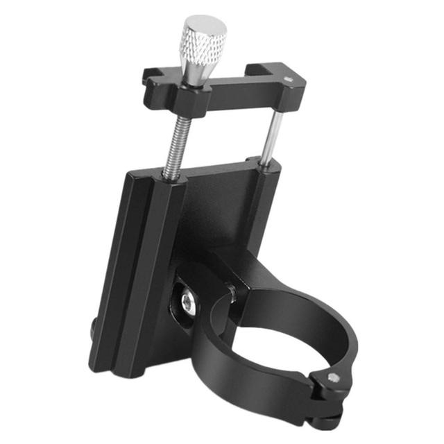 Aluminum Alloy Bicycle Phone Holder Motorcycle Handlebar Mount for 3.5-6.2 1