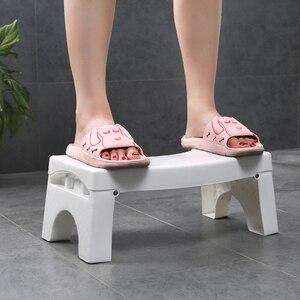 Image 3 - פלסטיק רגל נייד החלקה תכליתי אסלת שרפרף קראוץ אנטי עצירות בית כריעה מתקפל עגול אמבטיה סיוע