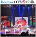 Leeman P3.91 новые hd! Крытый литья алюминия из светодиодов экран p3.9, 4.8, 5.2mmm HD из светодиодов этап фон из светодиодов видео