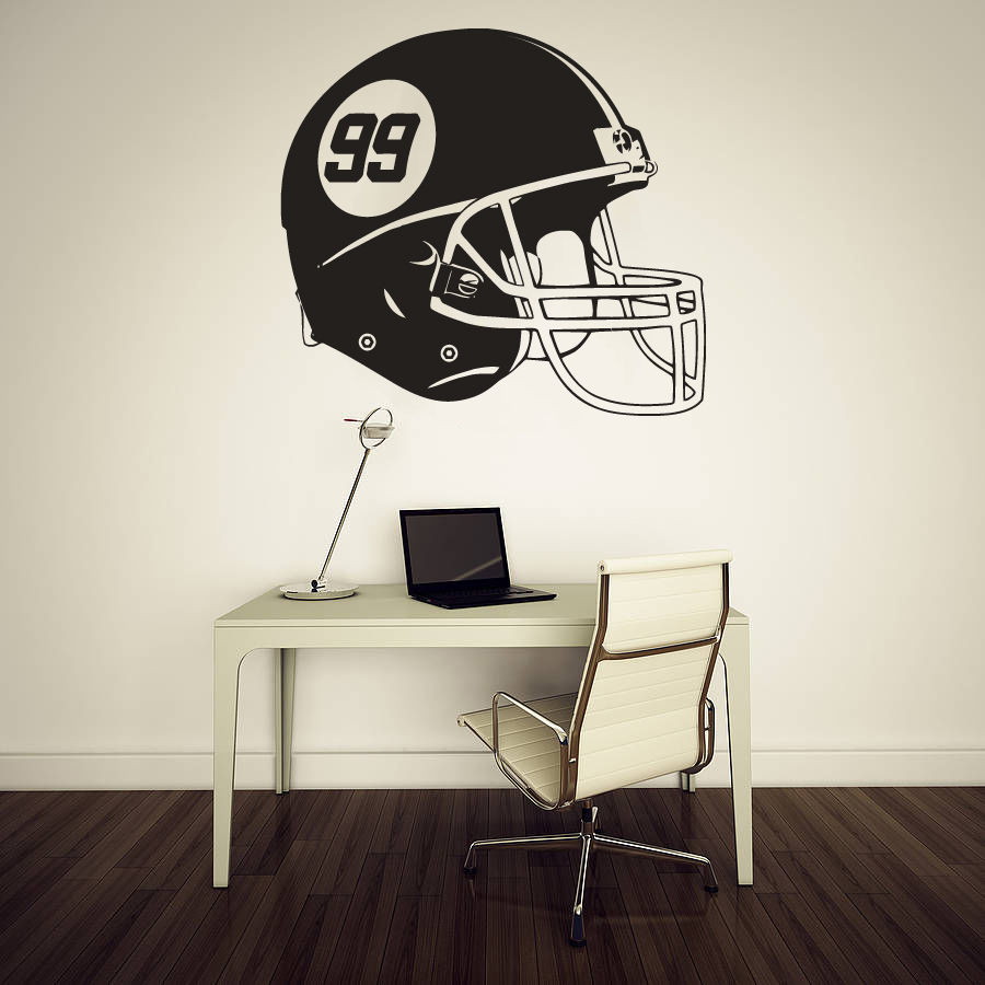 Online Get Cheap Helm Wall Sticker Aliexpresscom Alibaba Group - Custom vinyl wall decal equipment