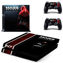 Game Mass Effect Andromeda PS4 Skin Sticker Decal Vinyl for Playstation 4 Console and 2 Controllers Stickers