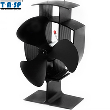6 Inch Multi Function Heat Powered Eco Stove Fan for Wood Burning Fireplace and USB Desk Fan