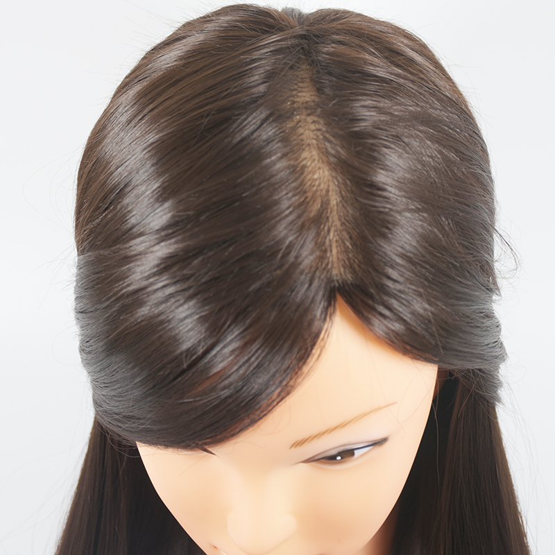 Super Aliexpress Com Buy Training Mannequin Head With Hair 65Cm Hairstyles For Women Draintrainus