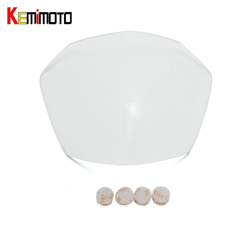 KEMiMOTO MT 07 FZ 07 MT07 Motorcycle Lighting Front Head Light Headlight Protective Cover For Yamaha MT-07 FZ-07 FZ07 2014-2017 geely sc7 sl car front headlight head light transparent cover