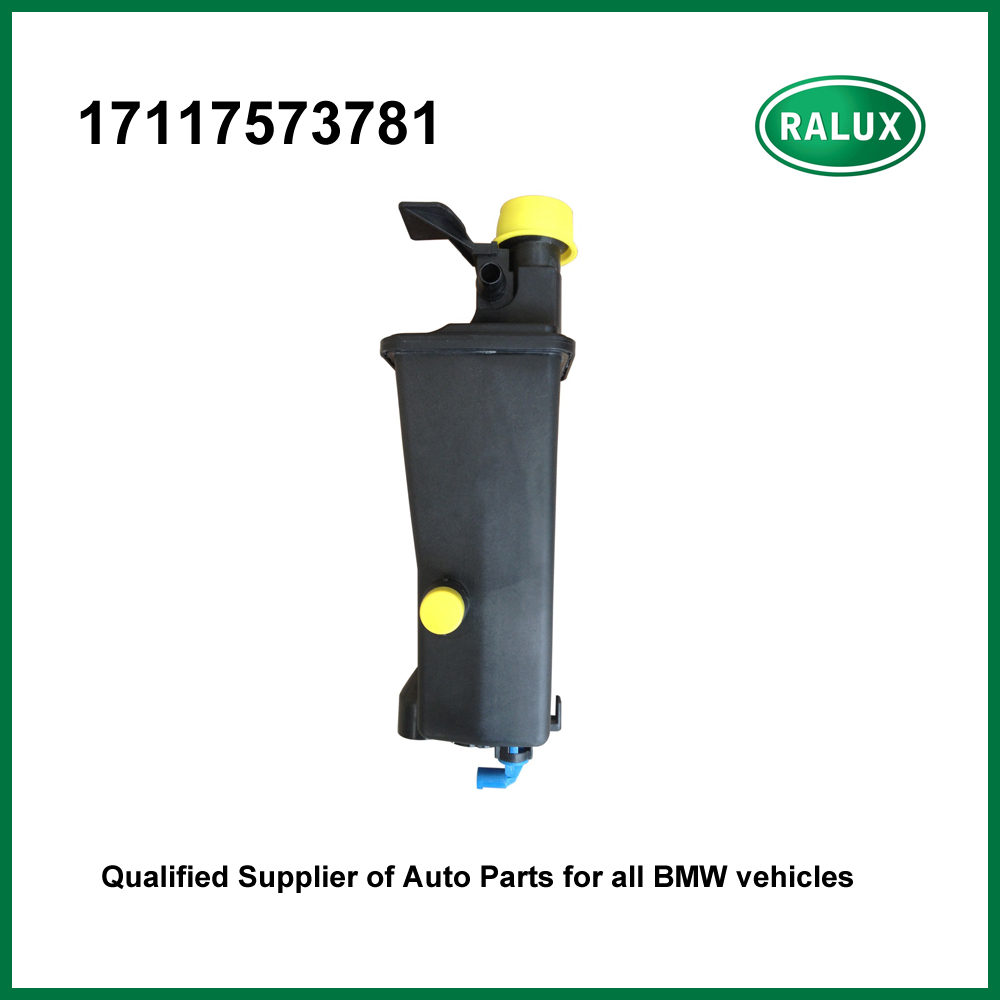 <font><b>17117573781</b></font> car radiator expansion tank for BM W X3/X5 coolant overflow container auto engine cooling system spare parts supply image