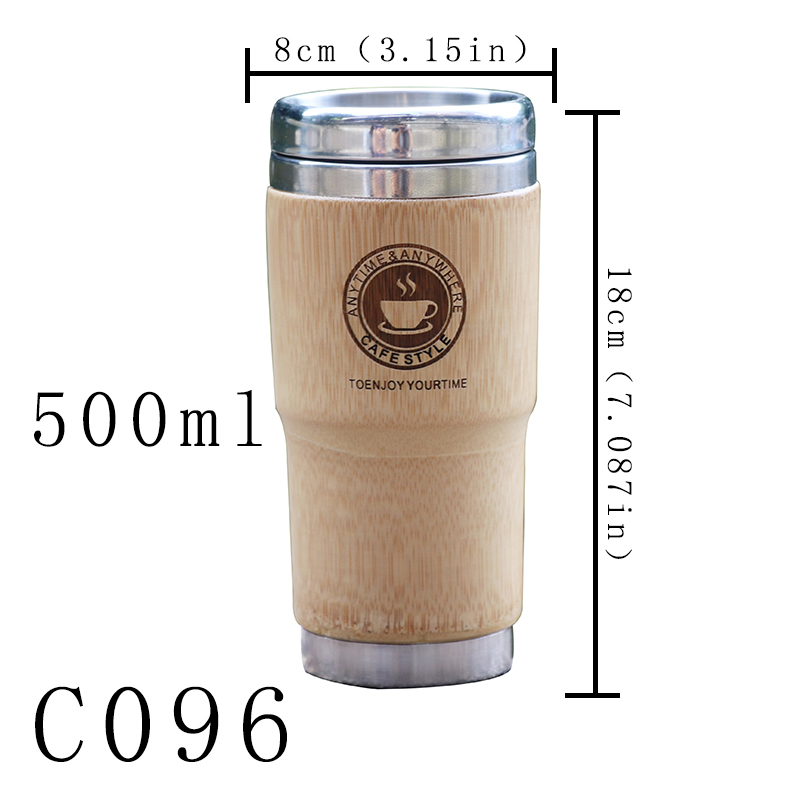 500ml Bamboo Travel Mug 5
