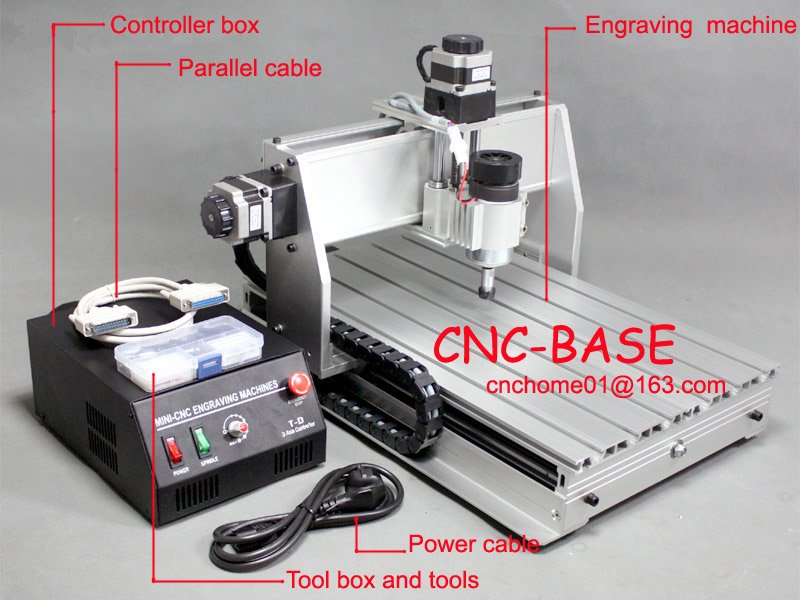upgraded 300W CNC router 3040 cnc engraving machine / pcb milling machine / wood carving router engraver free tax desktop cnc wood router 3040 engraving drilling and milling machine