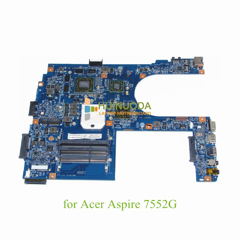 MB.PZT01.002 For Acer Aspire 7552 7552G AMD motherboard with ATI HD5850 MBPZT01002 48.4JN01.01M