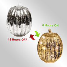 Pumpkin Flameless LED Candle Scented Electronic Lamp For Decoration