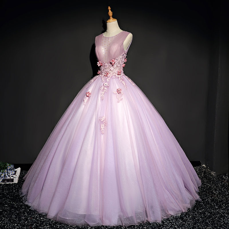100% real cosplay light pale lavender ball gown medieval dress Renaissance gown queen Victorian Belle Ball gown