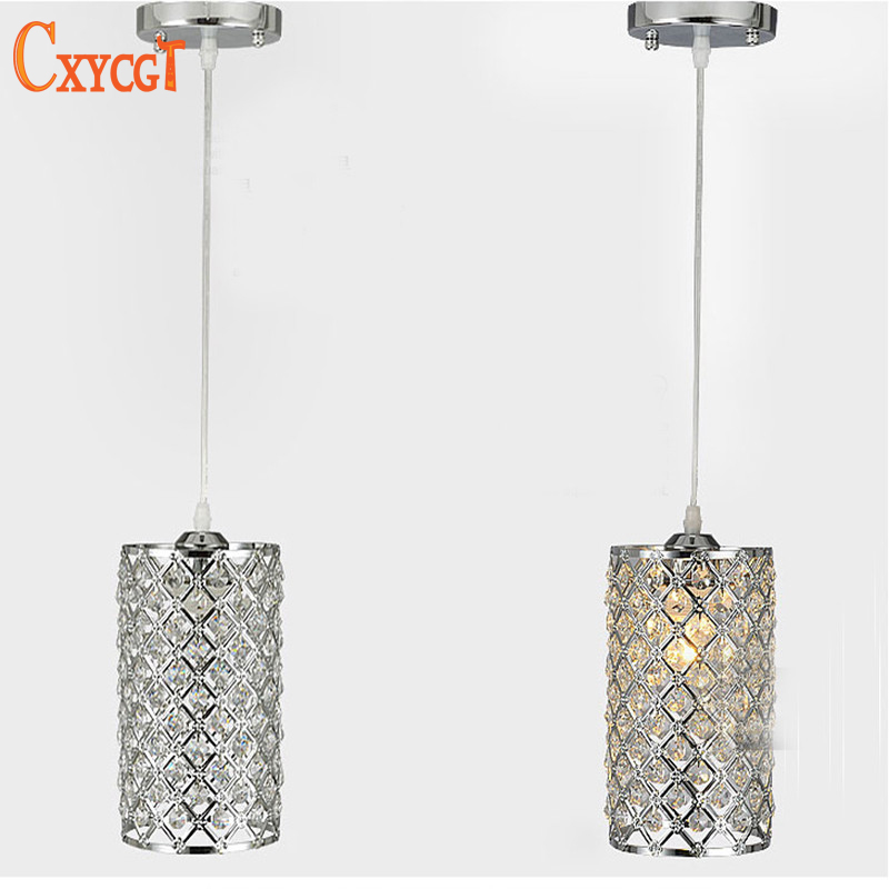 ФОТО New Modern Fashion Bar Aisle Gold and Silver Crystal Lamps Stairs Elegant Crystal Chandeliers For Foyer Living Room