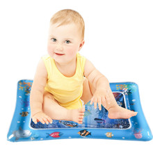 Детский коврик для игры в воду, надувной детский коврик для игр с животиком для малышей, забавная подвижная игра в центре