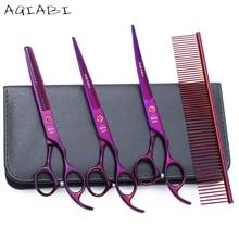 6.0 17.5cm Japan Kasho 440C Golden Colour Professional Human Hair Scissors Hairdressing Cutting Shears Thinning H1005