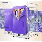 1300w 220V Portable Household folding electric clothes dryer Detachable clothes rack remote-control powerful sterilization 002