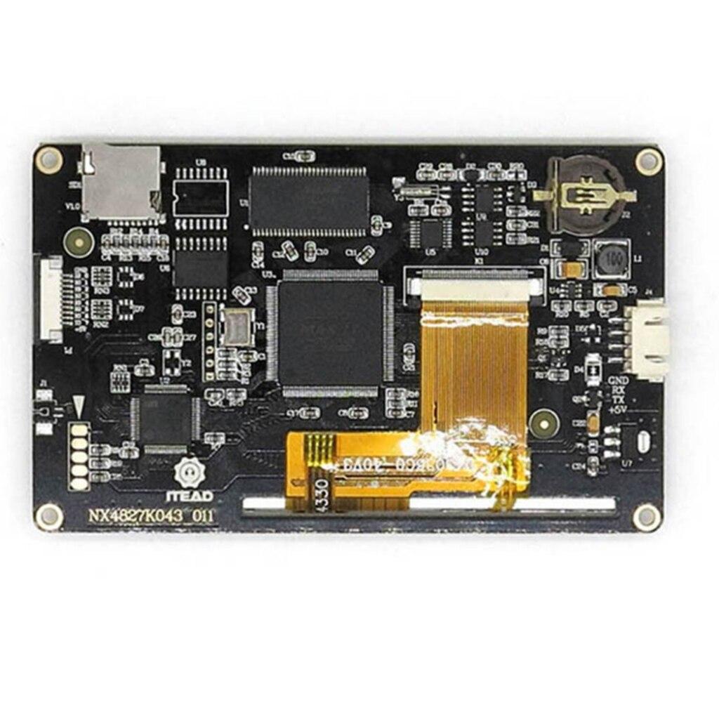 Ecran tactile HMI amélioré pour framboise Arduino Pi (4.3 '') NX4827K043 - 4