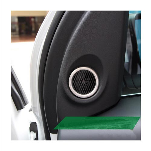 stainless steel High sound cover ring decoration 2pcs/set Car Accessories For Land rover freelander 2