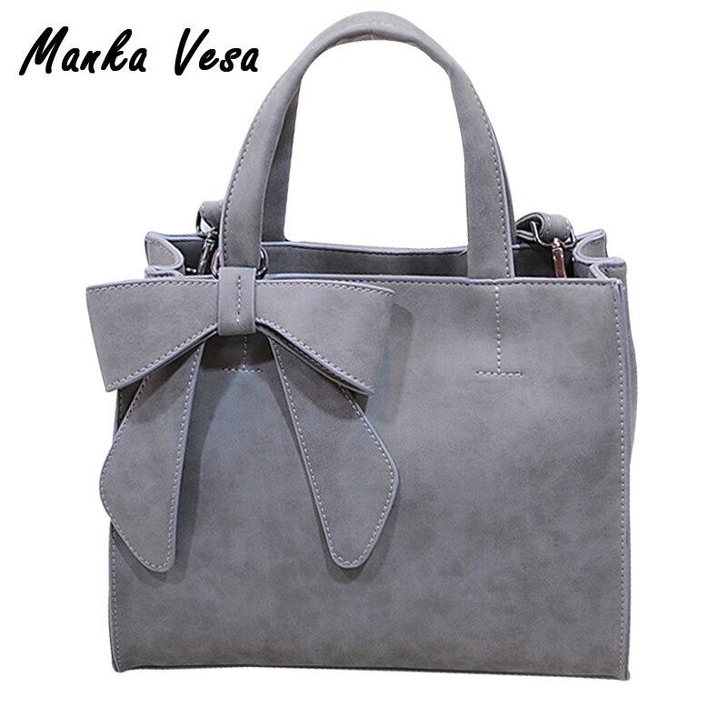 Manka vesa mujeres de los bolsos de cuero de las mujeres messenger bag bolsas de
