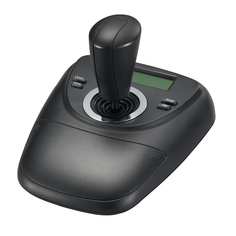 Nouveau contrôleur de clavier analogique RS485 PTZ LCD PELCO-D/affichage PLCD pour le contrôle de vidéosurveillance de caméra à inclinaison panoramique à dôme de vitesse analogique