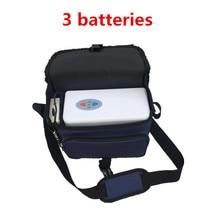COXTOD 3 батареи натуральная мини портативный концентратор кислорода для дома путешествия и автомобиля Применение