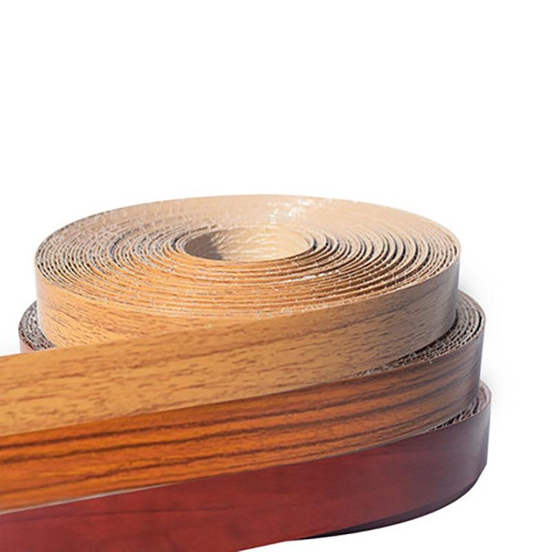 Us 13 49 10 Off Hot Melt Pvc Edge Banding Wood Veneer Cabinet Table Edge Protector Self Adhesive Furniture Board Panel Edge Banding 2cm Edger In