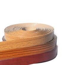 חם להמיס PVC קצה פסי עץ פורניר ארון שולחן קצה מגן דביק ריהוט לוח פנל פסי קצה 2cm Edger