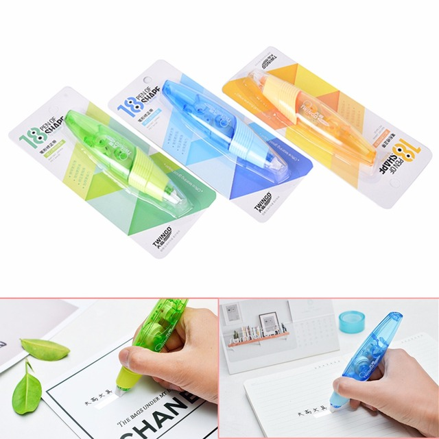 Creative practical correction tape pen shaped decorative white out creative practical correction tape pen shaped decorative white out school office supply stationery random color 5mm publicscrutiny Gallery