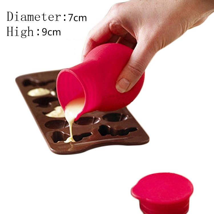 Безкоштовна доставка новий силіконовий розплав шоколад кубок приготування інструменти помадки DIY силіконові форми випічки прикраса цукерки смола ремесло  t