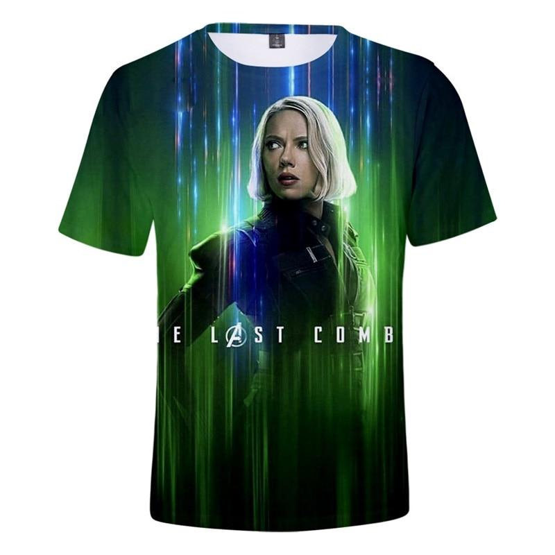 Cloudstyle 2019 Black Widow T Shirts Men 3D Print Men T Shirts Endgame Men T Shirts Short Sleeve Male Tees Tops Customize S-5XL