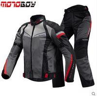 Новый motoboy езда племя летние дышащие мотоциклетные Наборы Защитная куртка + Брюки для девочек мотоциклетные Риди Бесплатная доставка EMS