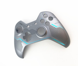 Image 3 - Original Silver Halo 5 Top Shell cover Skin housing case Upper for XBOX ONE controller Gamepad+T8 Screw Driver