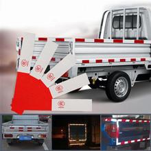 Akcesoria samochodowe zewnętrzne akcesoria odblaskowe paski Auto ostrzeżenie bezpieczeństwa noc odblaskowe taśma naklejki samochodowe tanie tanio Paski odblaskowe red and white 30 x 4 5cm bare loading