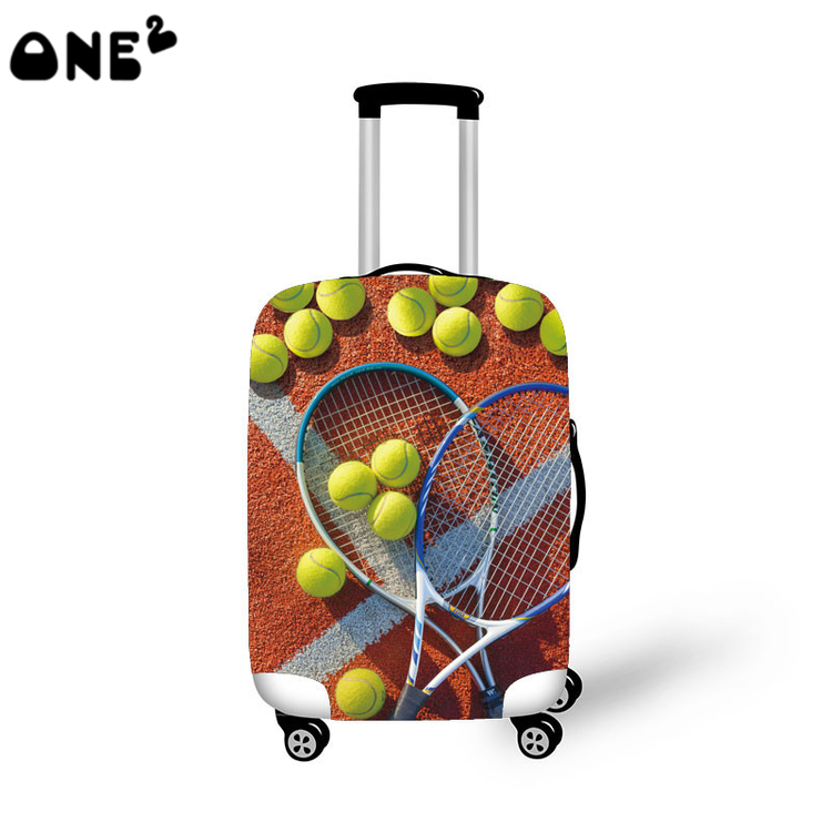 2016 ONE2 Design pattern printed cover apply to 22 24 26 inch suitcase custom fabric for