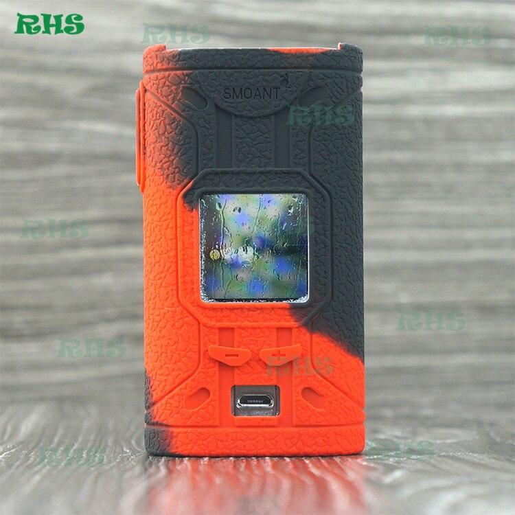2 stücke RHS Neue ankunft Silikon Fall Abdeckung für Smoant cylon tc 218 watt bunte hohe qualität aus China fabrik freies verschiffen