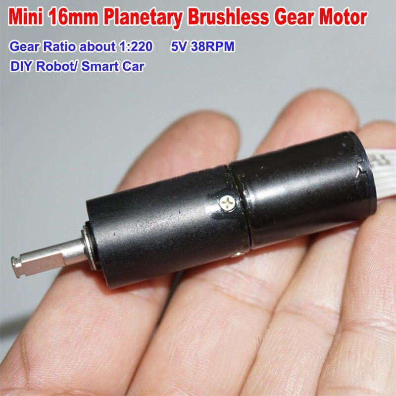 DC 5V 6V 98RPM 20MM Mini 180 Metal Gearbox Gear Motor Slow Speed DIY Robot Car