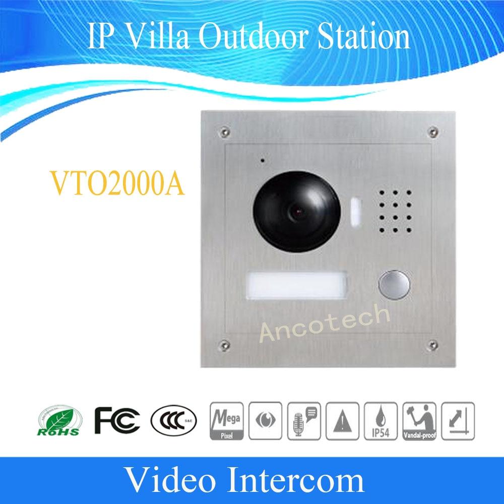 Ingyenes házhozszállítás DAHUA kaputelefon Intercom IP Villa - Biztonság és védelem