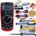 Профессиональный Прецизионный Цифровой мультиметр со светодиодным индикатором и электрическим железом  вольтметр  амперметр  переменный ...