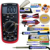 Professional precision BT-58A led digital multimeter + Electric iron Voltmeter Ammeter AC DC OHM Volt Tester Current Measurement