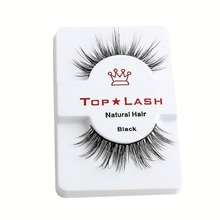 3D 100% MINK LUXURY FALSE LASHES Human Hair Flutter Wispy False Lashes