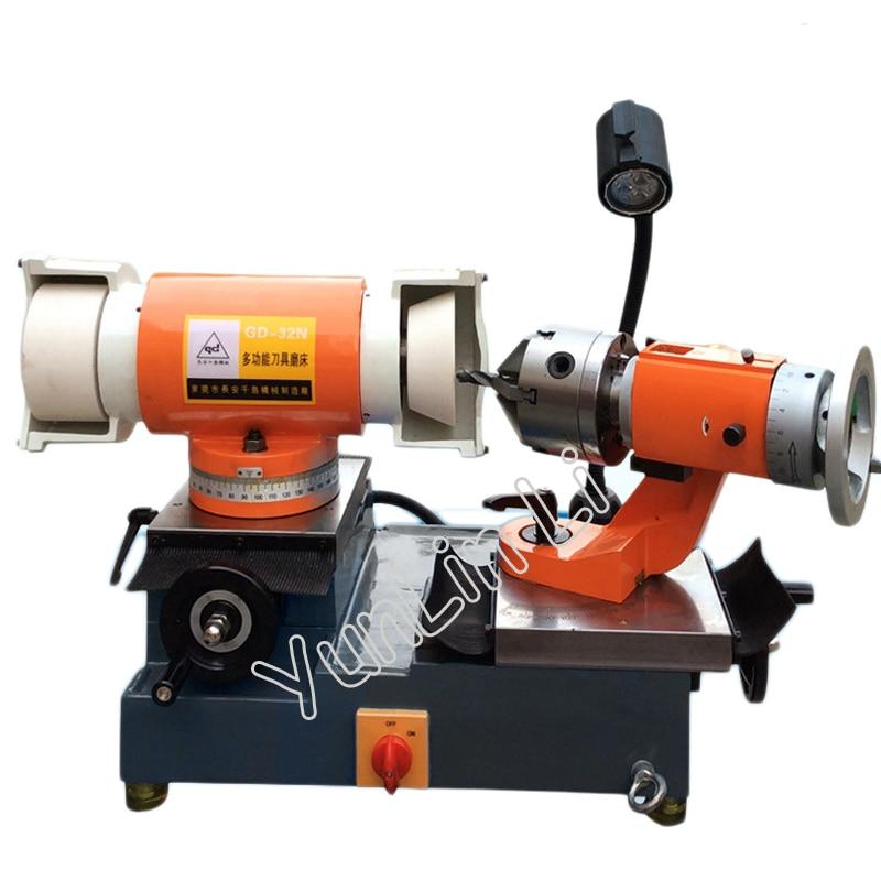 Drill Grinding Machine 3-50mm 110V/220V/380V End Milling Cutter Bit Grinder GD-32N