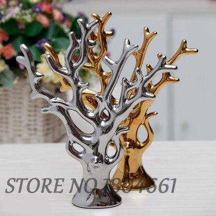 կերամիկական ծառ տնային դեկոր արհեստ - Տնային դեկոր - Լուսանկար 3