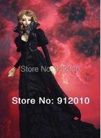 Limited Vintage *Black Dahlia*Long Dress Outfit for BJD Doll 1/3 SD16,SDGR,IP EID Woman Doll Clothes LF1