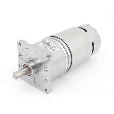 12VDC 200RPM 1.2A 15kg.cm Output Speed Cylinder Shaped Oven Geared Motor DFGA42FM 28.8
